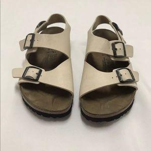 Birkenstock Birkis Two Strap Slides Sandals Size 8